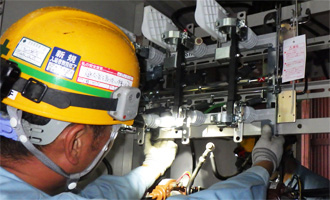 高圧交流負荷開閉器更新