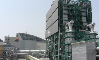 RDF発電プラント外観画像