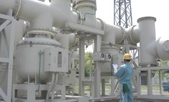 発電設備メンテナンス画像