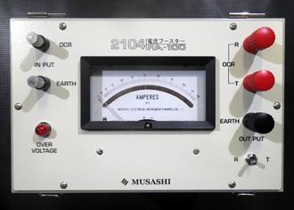 電流ブースター MUSASHI RA-100